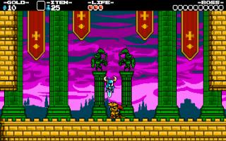 Het grafisch stijltje zou zomaar uit het 8-bit tijdperk kunnen komen.
