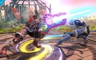 This is the Monado's power! Shulk gebruikt de verschillende Monado-arts om de vijand te verslaan.