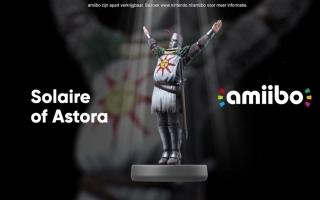 Deze amiibo is gebaseerd op Solaire uit Dark Souls Remastered voor Nintendo Switch.