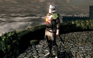 Solaire bekijkt alles van de zonnige kant, als is het zo donker als in Dark Souls!