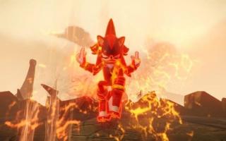 Ook Goku is van de partij... Oh nee, het is Shadow.
