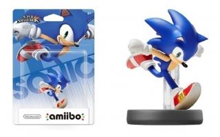 Dit is de Sonic-amiibo. Het design komt van de moderne Sonic-games.