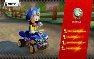 Verkrijg een Sonic-kostuum in <a href = https://www.mariowii-u.nl/Wii-U-spel-info.php?t=Mario_Kart_8>Mario Kart 8</a>! Zal Sonic in Mario Kart net zo snel zijn?