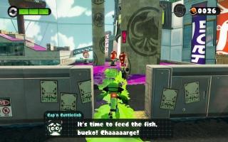 Help Cap 'n Cuttlefish in de strijd tegen de Octopussen om de Great Zap Fish in de campaign.