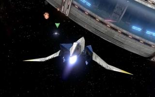 Natuurlijk kunnen de ruimtelevels niet ontbreken in een StarFox spel.