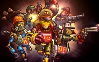 De crew van Steamworld Heist is klaar voor het gevecht!