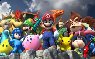 Meer dan 50 Nintendo-personages staan te popelen om elkaar een flink pak slaag te geven!