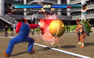 De Wii U-versie kent twee extra modi: Tekken Ball en Mushroom Battle.