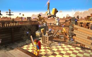 Dit is de eerste Lego-game waarin alle omgevingen ook daadwerkelijk van Lego zijn gemaakt.