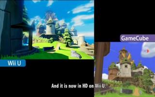 Grafisch is het spel sterk verbeterd ten opzichte van de <a href=https://mariocube.nl/GameCube_Spelinfo.php?Nintendo=The_Legend_of_Zelda_the_Wind_Waker>GameCube-versie</a>.