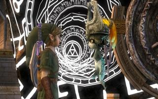 Link ontmoet Midna in deze game waarna het avontuur van start gaat.