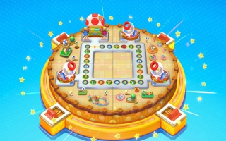 In <a href=https://www.mariowii-u.nl/Wii-U-spel-info.php?t=Mario_Party_10>Mario Party 10</a> kun je met de Toad Amiibo op dit bord in amiibo Party spelen.