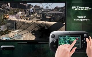 Bestuur zelf Sam's apparaat, de OPSAT, met de Wii U GamePad.