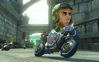 Met deze Toon Link amiibo speel je een outfit vrij in <a href = https://www.mariowii-u.nl/Wii-U-spel-info.php?t=Mario_Kart_8>Mario Kart 8</a>.