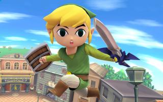 Vecht tegen je eigen Toon Link amiibo in <a href = https://www.mariowii-u.nl/Wii-U-spel-info.php?t=Super_Smash_Bros_for_Wii_U>Super Smash Bros for Wii U</a>!