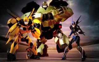 Transformers Prime The Game: Afbeelding met speelbare characters