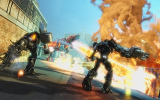 Transformers: Rise of the Dark Spark speelt zich zowel op aarde als op Cyberton af.