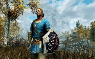Verkrijg speciale <a href = https://www.mariowii-u.nl/Wii-U-spel-info.php?t=The_Legend_of_Zelda_Breath_of_the_Wild>Breath of The Wild</a>-items in The Elder Scrolls V: Skyrim.
