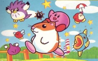 Waddle Dee's zijn er al sinds de eerste <a href = https://www.mariowii-u.nl/Wii-U-spel-info.php?t=Kirby_and_the_Rainbow_Paintbrush>Kirby</a>-games.