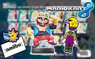 Ontgrendel een kostuum voor je Mii-Personage met de Wario amiibo!