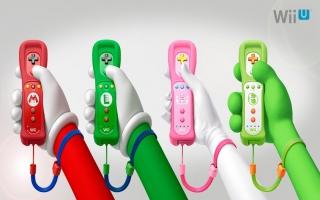Wii-afstandsbediening Plus: Afbeelding met speelbare characters