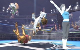 Wii Fit Trainer Nr 8 - Super Smash Bros series: Screenshot