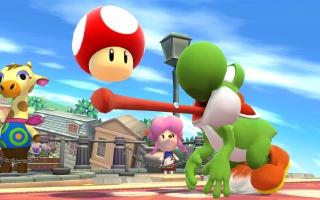 Dus de Wollen Mega-<a href = https://www.mariowii-u.nl/Wii-U-spel-info.php?t=Yoshi_Nr_3_-_Super_Smash_Bros_series>Yoshi amiibo</a> werkt ook in <a href = https://www.mariowii-u.nl/Wii-U-spel-info.php?t=Super_Smash_Bros_for_Wii_U>Super Smash Bros</a>. voor de Wii U of <a href = https://www.mario3ds.nl>3DS</a>!