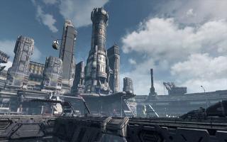 Het spel bevat futuristische elementen waaronder bestuurbare mechs.