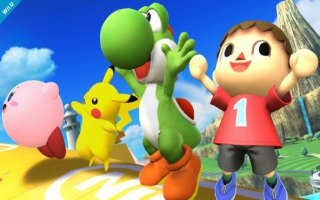Yoshi Nr 3 - Super Smash Bros series: Screenshot