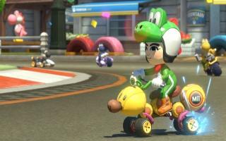 Speel een Yoshi kostuum vrij voor jouw Mii in <a href = https://www.mariowii-u.nl/Wii-U-spel-info.php?t=Mario_Kart_8>Mario Kart 8</a>!