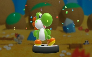 Of gebruik de Yoshi amiibo in Yoshi&apos;s <a href = https://www.mariowii-u.nl/Wii-U-spel-info.php?t=Yoshis_Woolly_World>Woolly World</a> voor dubbel speelplezier!