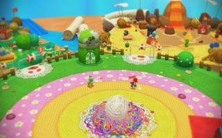 Heel de wereld bestaat uit wol en garen, net zoals indertijd met <a href=https://www.mariowii.nl/wii_spel_info.php?Nintendo=Kirbys_Epic_Yarn>Epic Yarn</a>.