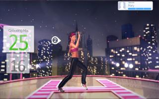 Je kan blijkbaar ook mimespelen! Hier loopt je trainer tegen een onzichtbare muur aan.