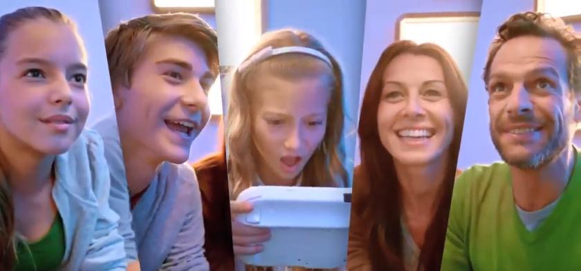 Familie op de Wii U