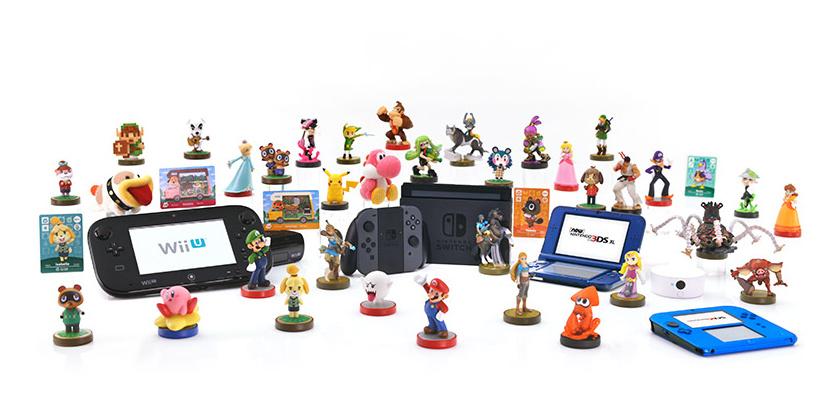 amiibo en Nintendo systemen
